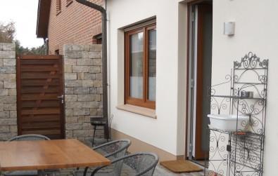 Blick auf die Terrasse(n)